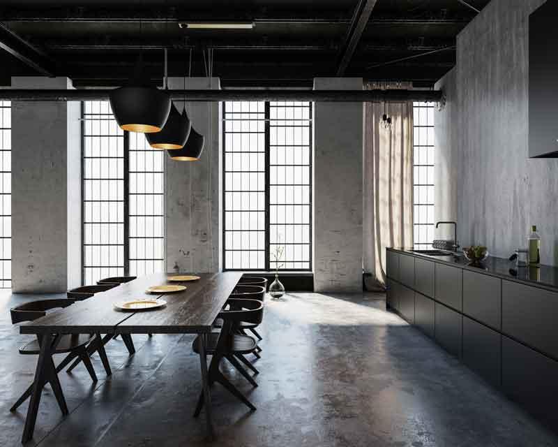 Küche Lichtdesign