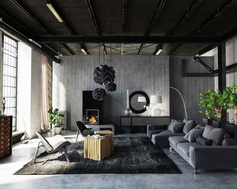 Wohnzimmer Lichtdesign